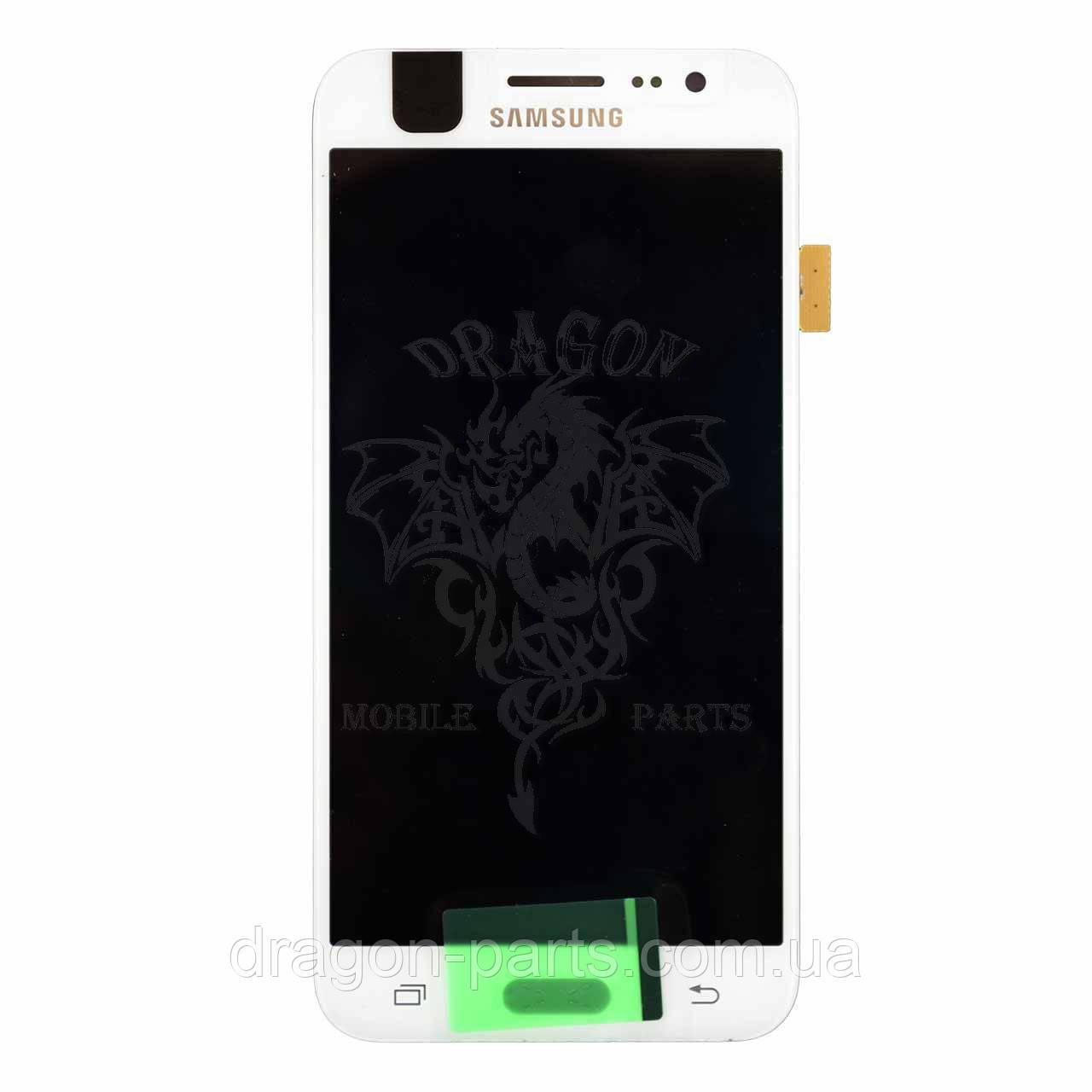 Дисплей Samsung J500 Galaxy J5 с сенсором Белый White оригинал , GH97-17667A