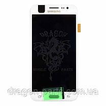Дисплей Samsung J500 Galaxy J5 з сенсором Білий White оригінал , GH97-17667A, фото 3