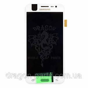 Дисплей Samsung J500 Galaxy J5 с сенсором Белый White оригинал , GH97-17667A, фото 2