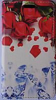 Чехол-книжка Kolor для Meizu M5 Note зонтик (1236)