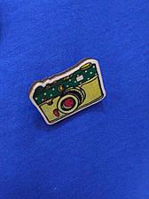 Дерев'яний значок фотоапарат