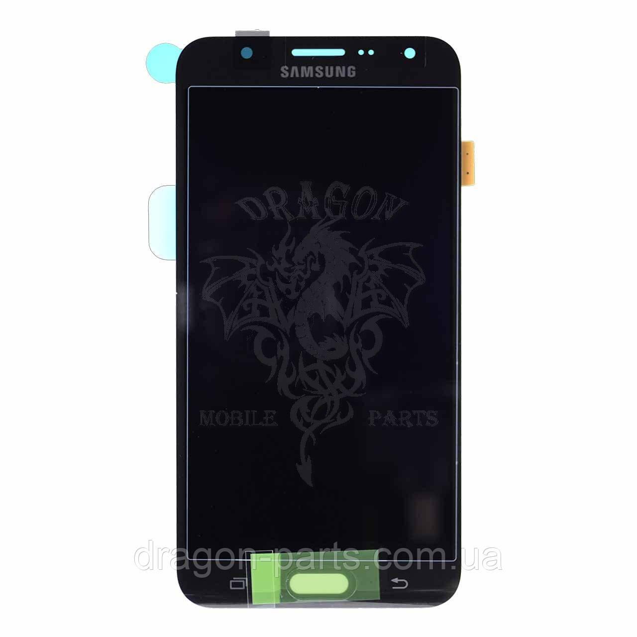 Дисплей Samsung J700 Galaxy J7 с сенсором Черный Black оригинал , GH97-17670C