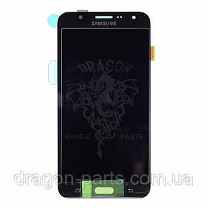 Дисплей Samsung J700 Galaxy J7 с сенсором Черный Black оригинал , GH97-17670C, фото 2