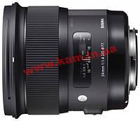 Объектив SIGMA AF 24/ 1,4 DG HSM Art Nikon (401955)