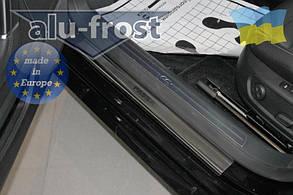 Накладки на пороги Volkswagen Passat B6