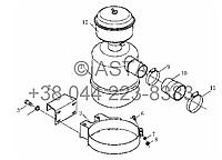 Воздушный фильтр в сборе (X904, опция без кабины водителя) - F5/6L 912A-0000 на YTO-X854