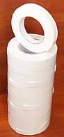 Скотч двухсторонний на вспененной основе (белая пена на белой подложке, в т.ч. для зеркал) 18мм*5м