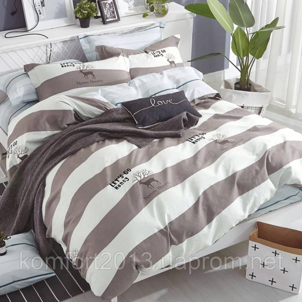 Двуспальное постельное белье, Марал, сатин 100%хлопок