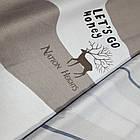 Двуспальное постельное белье, Марал, сатин 100%хлопок , фото 3