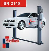 SkyRack SR-2140 Автомобильный двухстоечный электрогидравлический подъемник, фото 1