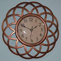 Настенные часы, медь (25 см.), фото 1