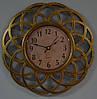 Настенные часы, золото (25 см.)