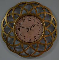 Настінні годинники, золото (25 см), фото 1