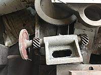 Механизм выставления ножей пресс ножниц нв5222