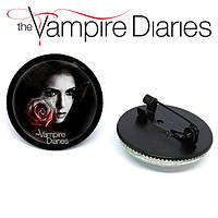Значок брошь Дневники Вампира Vampire Diaries Елена Гилберт, фото 1