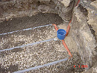 Дренажная труба для автономной канализации.
