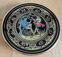 Декоративная тарелка с позолотой, Греция, фото 1