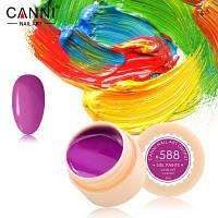 Гель краски и гель лак 2 в 1 Canni, №588