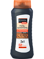 Гель-шампунь Cool Men ULTRAENERGY 400 ml.