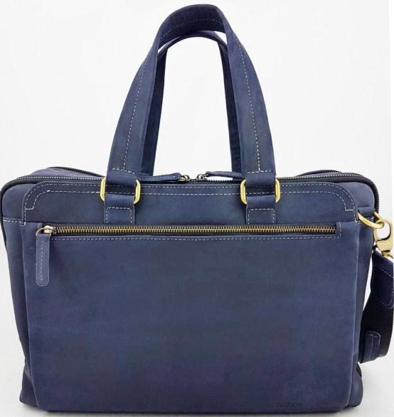 f2f1f7e2e1ff Сумка-портфель из натуральной кожи VATTO Mk67 Kr600, мужская, синий -  SUPERSUMKA интернет