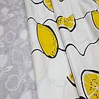 Полуторное постельное белье, Лимончелло, сатин 100%хлопок , фото 2