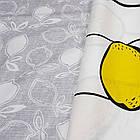 Полуторное постельное белье, Лимончелло, сатин 100%хлопок , фото 3