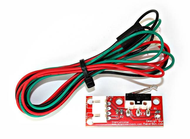 Механічний кінцевий вимикач на платі, фото 2