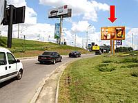 Рекламный Щит г. Киев, Дружбы Народов бул., развязка моста Патона / выезд на Набережное шоссе