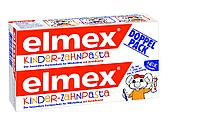 Детская зубная паста Elmex Kinder DOPPELPACK Для детей от 1 зуба до 6 лет 2 х 50ml