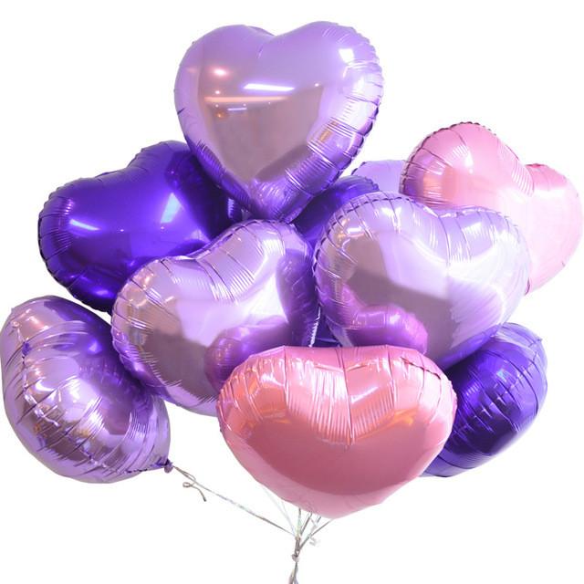 воздушные шары сердца оптом