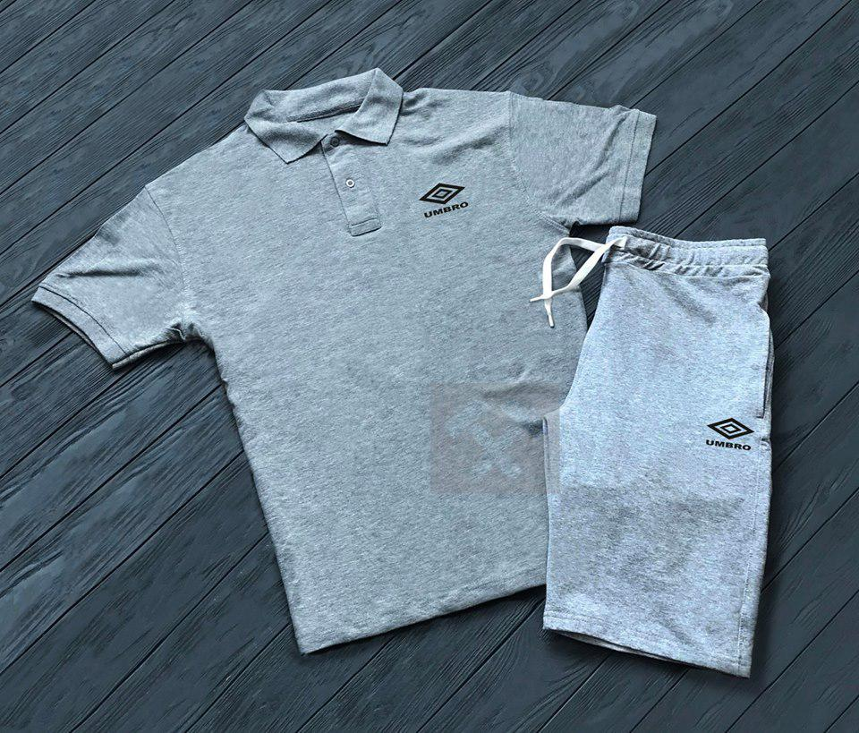 Шорты и футболка поло Umbro| Летняя акция