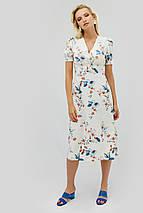 Вискозное светлое платье с цветочным принтом (Onil crd), фото 3