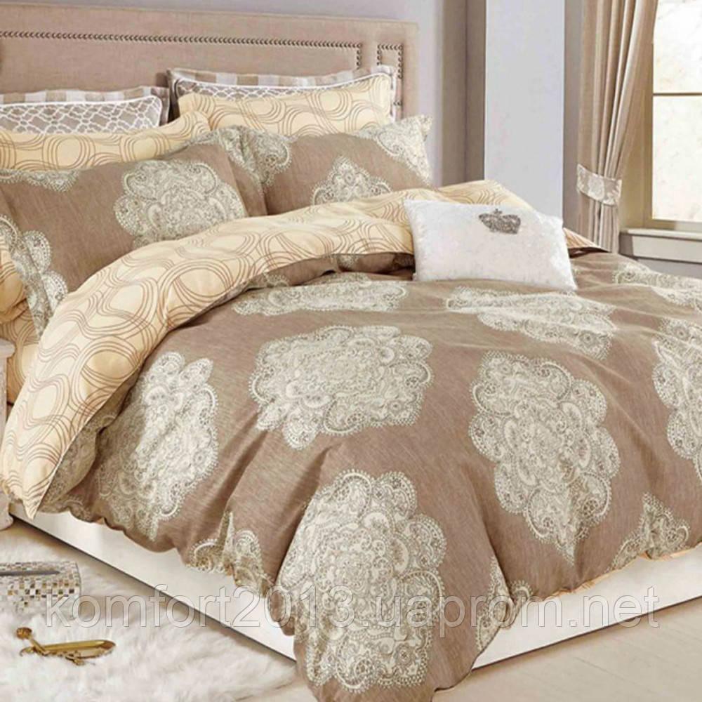 Полуторное постельное белье, Тиффани, сатин 100%хлопок