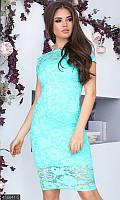 Платье нарядное гипюр  438841-5