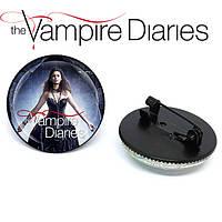 Значок брошь Дневники Вампира Vampire Diaries  Кэтрин Пирс, фото 1