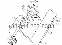 Рулевое управление на YTO X854, фото 1