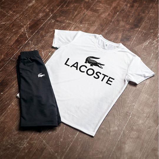 Шорты и футболка Lacoste| Летняя акция
