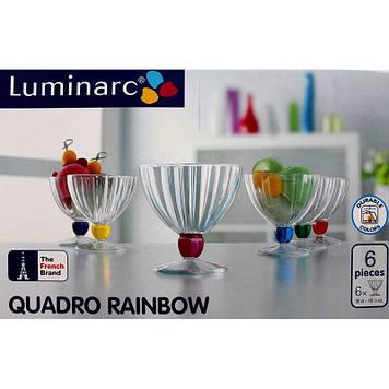 Набір креманок Luminarc Rainbow 300 мл 6 шт 5987