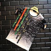 Брендовая мужская футболка Gucci Гучи с принтом (реплика)