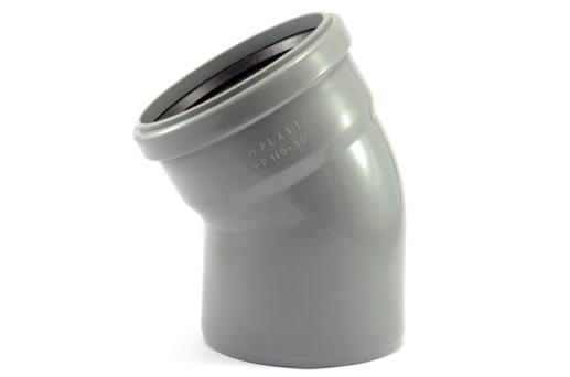 Коліно  ПП/ПВХ 110 х 30* внутренняя канализация