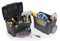Ящики, органайзери, сумки, рюкзаки і пояси для інструменту