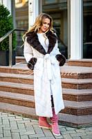 пальто из норки вязаной купить недорого у проверенных продавцов на