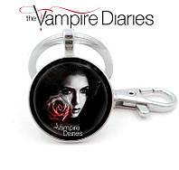 Брелок Дневники Вампира Vampire Diaries с Еленой Гилберт, фото 1