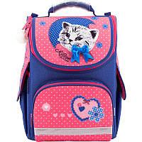 Рюкзак школьный каркасный Kite Pretty kitten Котенок Kite  (Кайт), фото 1