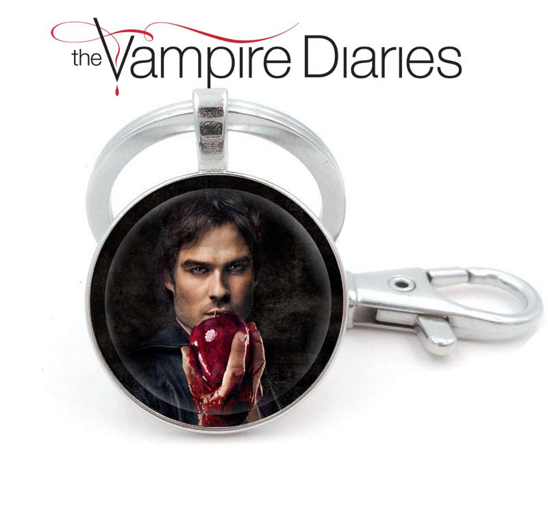 Брелок Дневники Вампира Vampire Diaries Деймон Сальваторе