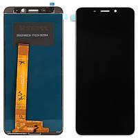 Дисплей (экран) для Meizu M6S + тачскрин, цвет черный