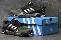 Мужские кроссовки Adidas Marathon TR 26  зеленые