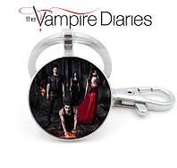 Брелок Дневники Вампира Vampire Diaries с главными героями сериала, фото 1