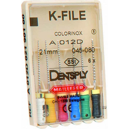 K-File Colorinox (К-Файлы) 25мм NaviStom