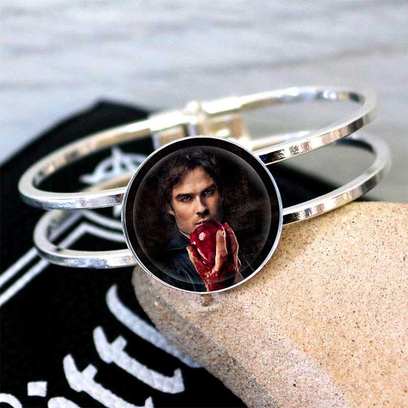 Браслет Дневники Вампира Vampire Diaries с Деймоном